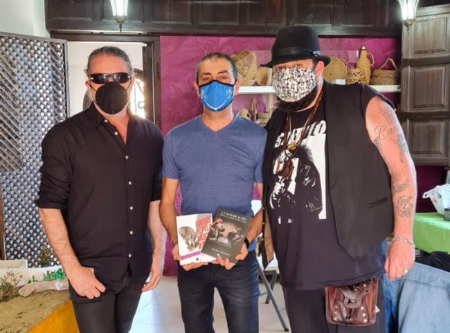 El 'Escenario Literario' de Huércal de Almería trae a Kutxi Romero y Rafa J. Vegas