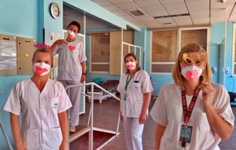 El Hospital de Poniente se suma al Día del Niño Hospitalizado
