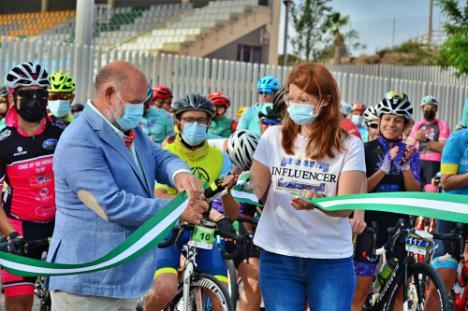 200 ciclistas recorren la Mancomunidad del Bajo Andarax en la prueba decana de SDomínguez