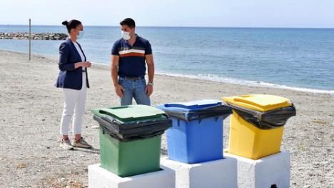 Adra retoma la limpieza de los espacios naturales con los 'Ecodomingos'