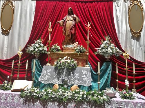 Nueve hermandades participarán en el Concurso de Exorno de los Altares