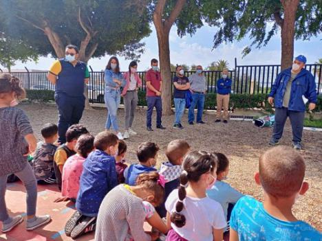 Un millar de escolares ejidenses participan en el Día del Medio Ambiente