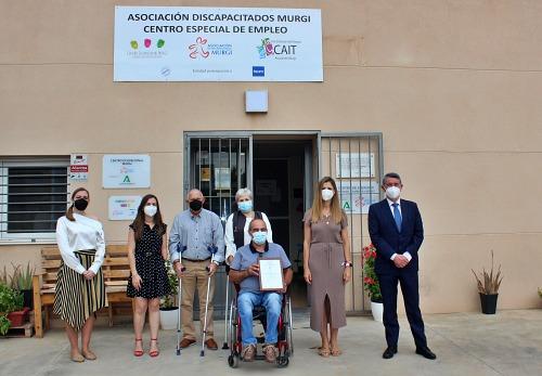 La Asociación Comarcal de Discapacitados Murgi obtiene el sello de calidad AENOR