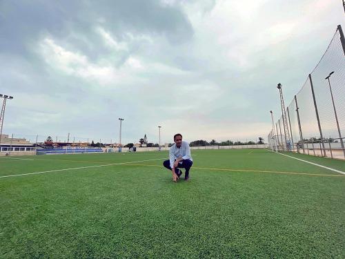 El PMD pone a punto del Complejo Deportivo Las Dunas de Cabo de Gata