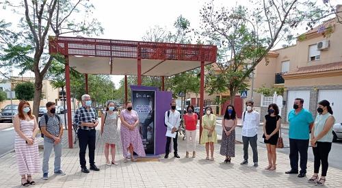 Campaña del Ayuntamiento de Huércal contra la violencia de género