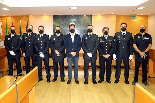 Toman posesión de su cargo cuatro oficiales de la Policía Local de El Ejido