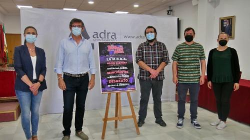 La M.O.D.A, Estrella Morente y Seguridad Social, en el verano de Adra