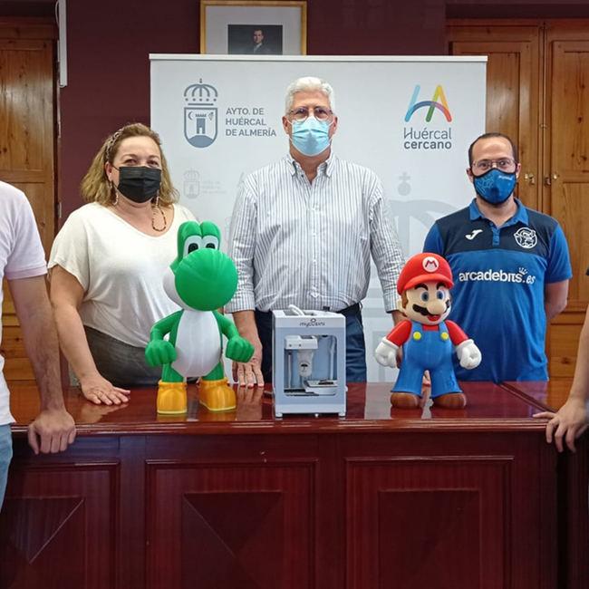 El Huercal de Almería acojerá el mayor evento de impresión 3D de la provincia