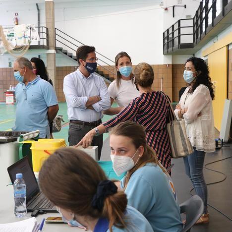 Las Norias y Balerma, nuevos puntos de vacunación masiva en El Ejido