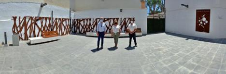 Inaugurada la ampliación en el parque infantil de Los Pensadores