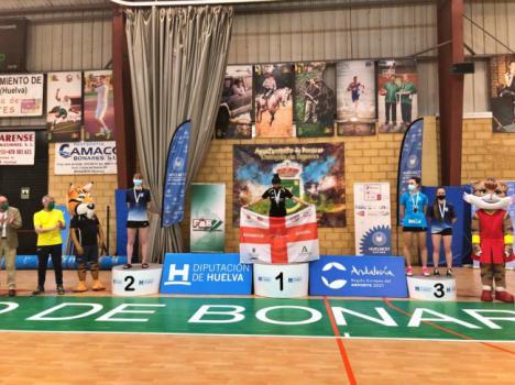 La EDM Mercapinturas Almería logra nueve medallas en el Campeonato de Andalucía sub 13 y sub 17 de bádminton