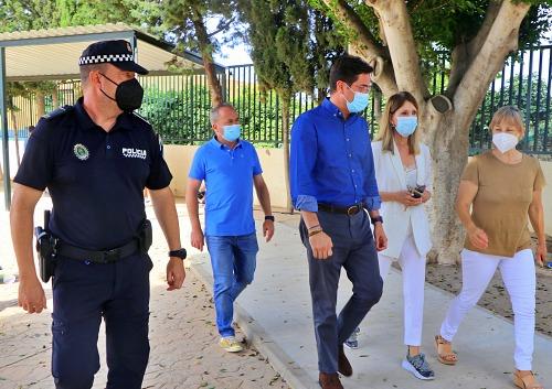La Policía Local de El Ejido imparte una jornada de Educación Vial en el CEIP Diego Velázquez