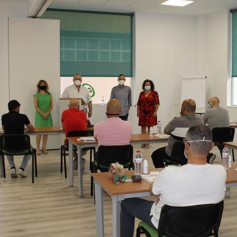 El CSIF inaugura sus nuevas aulas de formación
