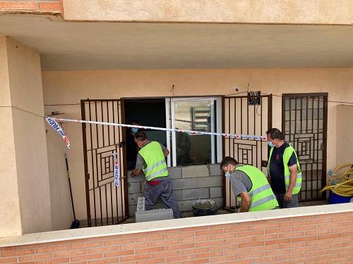 La Policía Local evita una Okupación en el residencial Los Patios de San Agustín