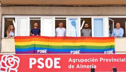 """Sánchez Teruel: """"La causa del colectivo LGTBI es la causa del PSOE"""""""