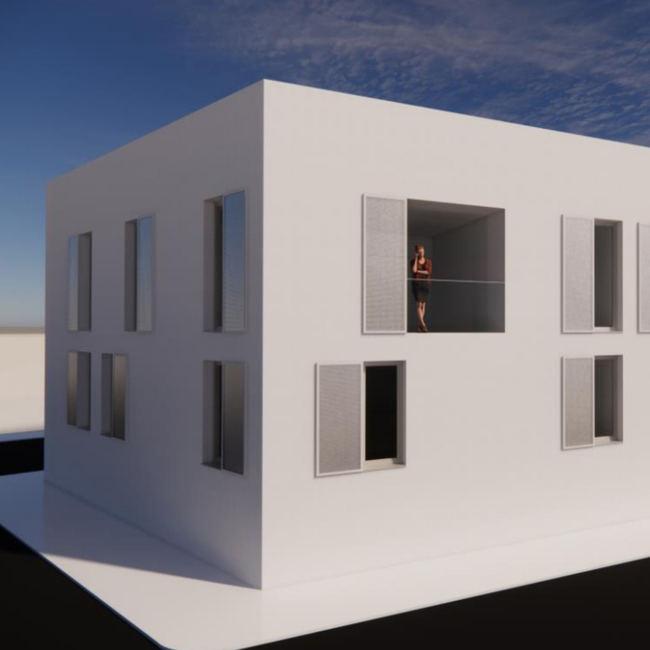 El Ayuntamiento transformará una parcela de 365m2 en un bloque de seis viviendas