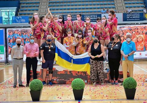 Olímpico de Las Palmas gana el Campeonato de España Juvenil Femenino de Voleibol celebrado en Almería