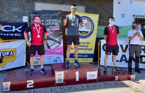 Juan Jesús Ruano triunfa en el XX Campeonato de Andalucía de Descenso de Cañones