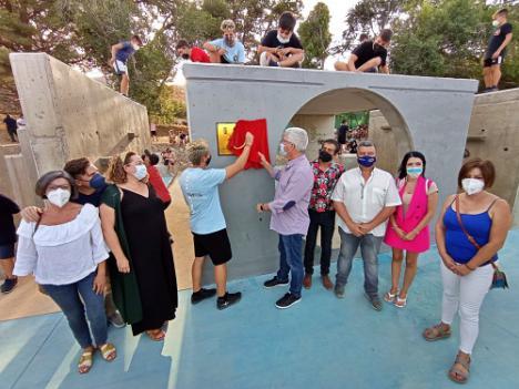 El parkour de Huércal de Almería recibe el nombre de Álex Segura