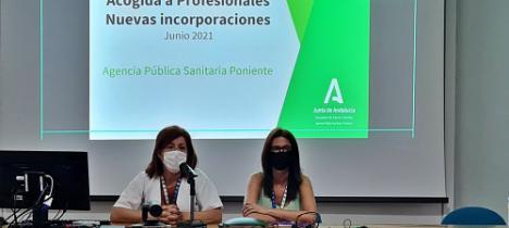 El Hospital de Poniente da la bienvenida a los profesionales de verano
