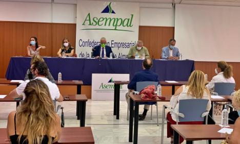 Jornadas de Junta y Asempal sobre ayudas para reactivar la economía