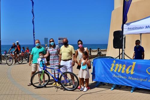 """Balerma y Almerimar se suman a """"pedalear"""" con el Día de la Bicicleta"""
