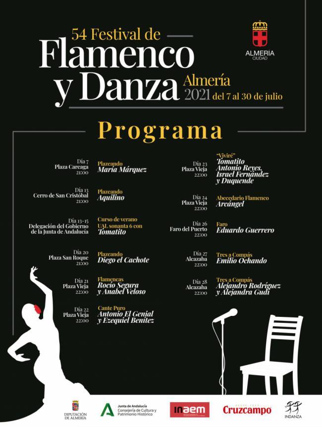 Almería inicia el 54º Festival de Flamenco y Danza