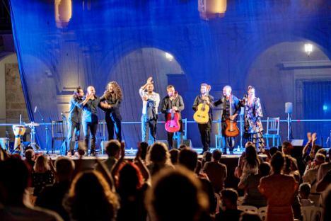 Antonio El Genial y Ezequiel Benítez brindan una noche de 'cante puro'