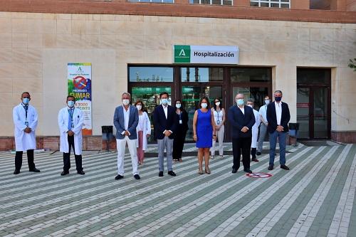 La Junta invierte 3,4 millones en la primera fase de la ampliación de la UCI del Hospital de Poniente