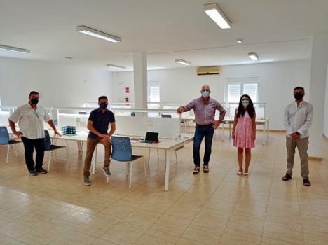 Una app permite el acceso a la nueva sala de estudio de Huércal