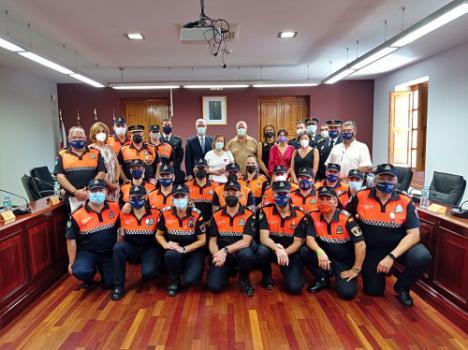 Protección Civil de Huércal de Almería celebra su décimo aniversario