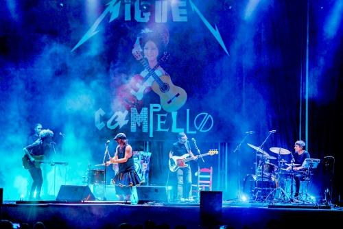 Miguel Campello mezcla el fuego del rock y la candela del flamenco