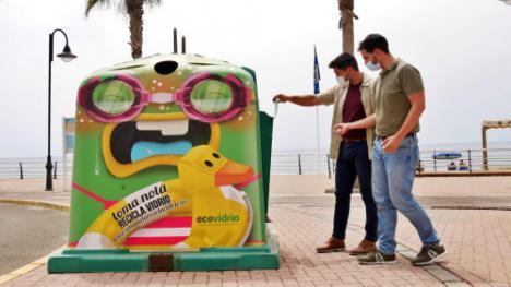Ayuntamiento de Adra y Ecovidrio apuestan por aumentar el reciclaje en la hostelería