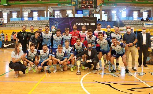 El CD El Ejido Futsal subcampeón de la Copa de Andalucía.