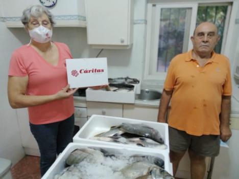 350 kilos de capturas en el Campeonato Solidario de Andalucía de Pesca Submarina de Clubes