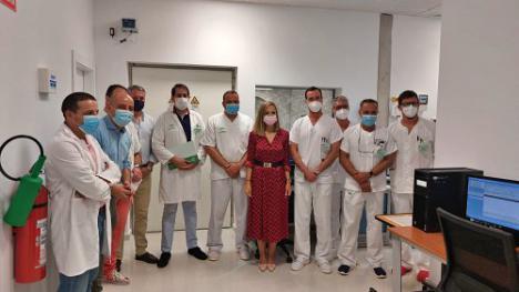 El Hospital La Inmaculada apuesta por el servicio de un equipo de resonancia