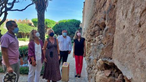 Cultura licita las obras del Muro de la Vela de La Alcazaba por 349.365 euros