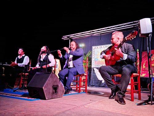 Huércal de Almería recupera su Festival flamenco con El Titi y Juanfran Carrasco
