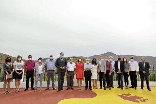 La Junta celebra la Comisión de coordinación en Benitagla