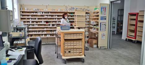 El Área de Farmacia del Hospital de Poniente renueva la certificación de Calidad Sanitaria