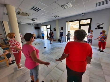 Huércal de Almería retoma las actividades para la Tercera Edad