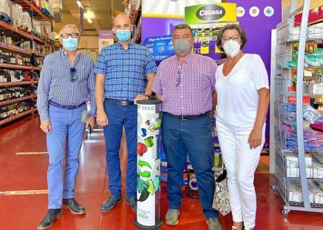 Espacios de Punto Limpio en Huércal con el CR del Sector II