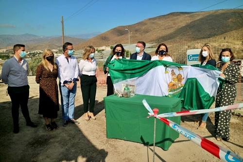 Arrancan las obras en Berja del primero de los cuatro nuevos puntos limpios de Almería