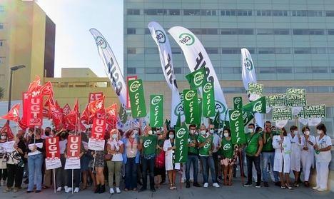 CSIF clama contra la reducción de 800 profesionales del SAS en Almería