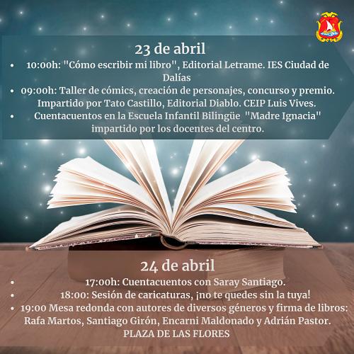 Dalías celebra el Día del Libro recordando las bombas de Palomares