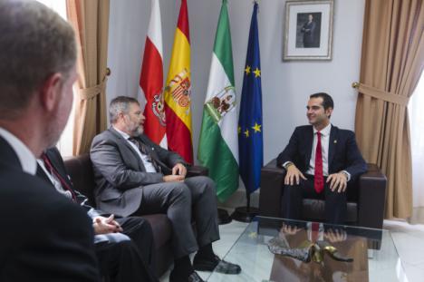 Almería 2019 llega hasta Alemania de la mano del embajador germano en España