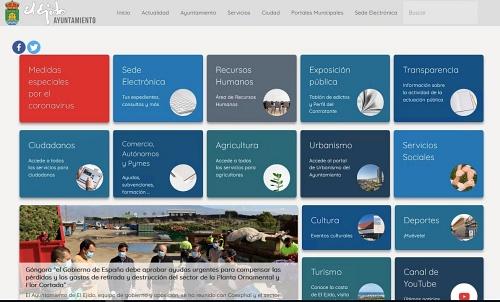 Ayuntamiento de El Ejido abre su web a la promoción del comercio local