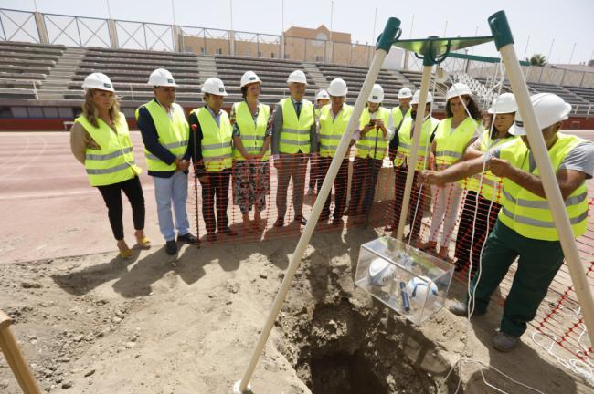 El Ayuntamiento aplaude la agilidad de la Junta en la remodelación del Estadio de la Juventud