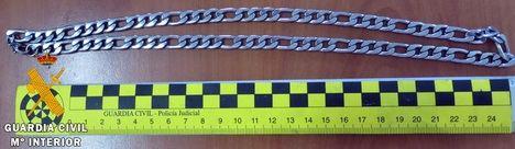 La Guardia Civil detiene a dos personas por robo con fuerza en las cosas en Albox