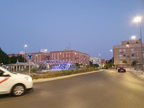 Almería se tiñe de azul por el Síndrome de Sjögren